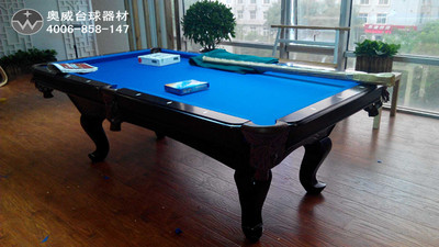 Billiard Table _ Engraved pool table, Snooker table C03